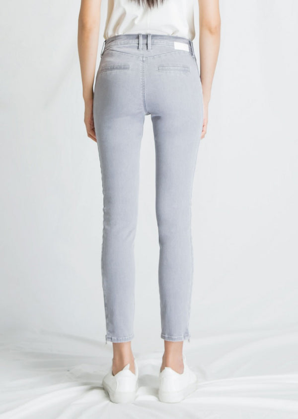 SUN UP - Skinny, Organic Powerstretch Denim, Biker