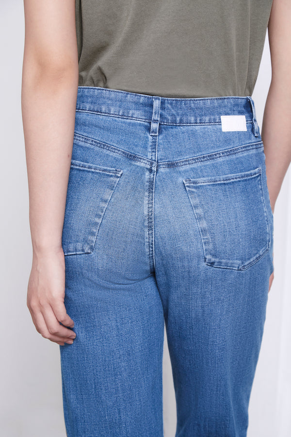 DEW - Flared, Organic Lightweight Denim