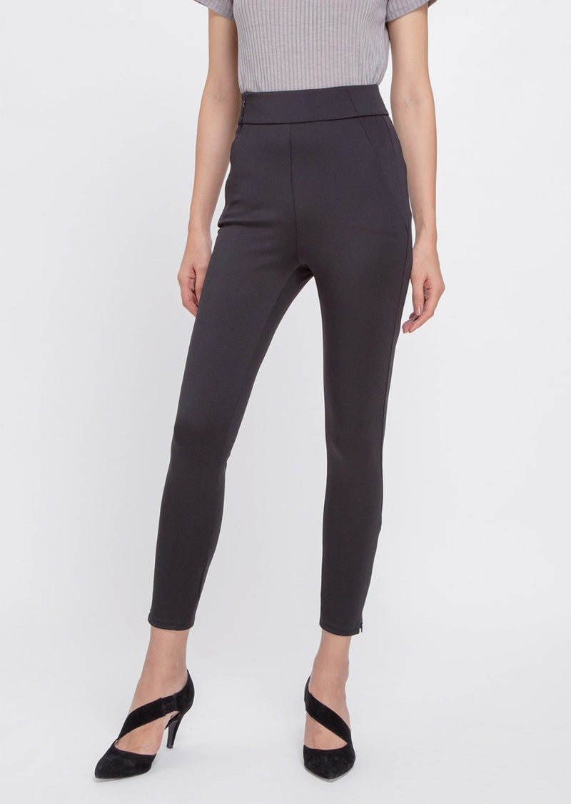 SUN UP - Skinny, Powerstretch Scuba Leggins, Black