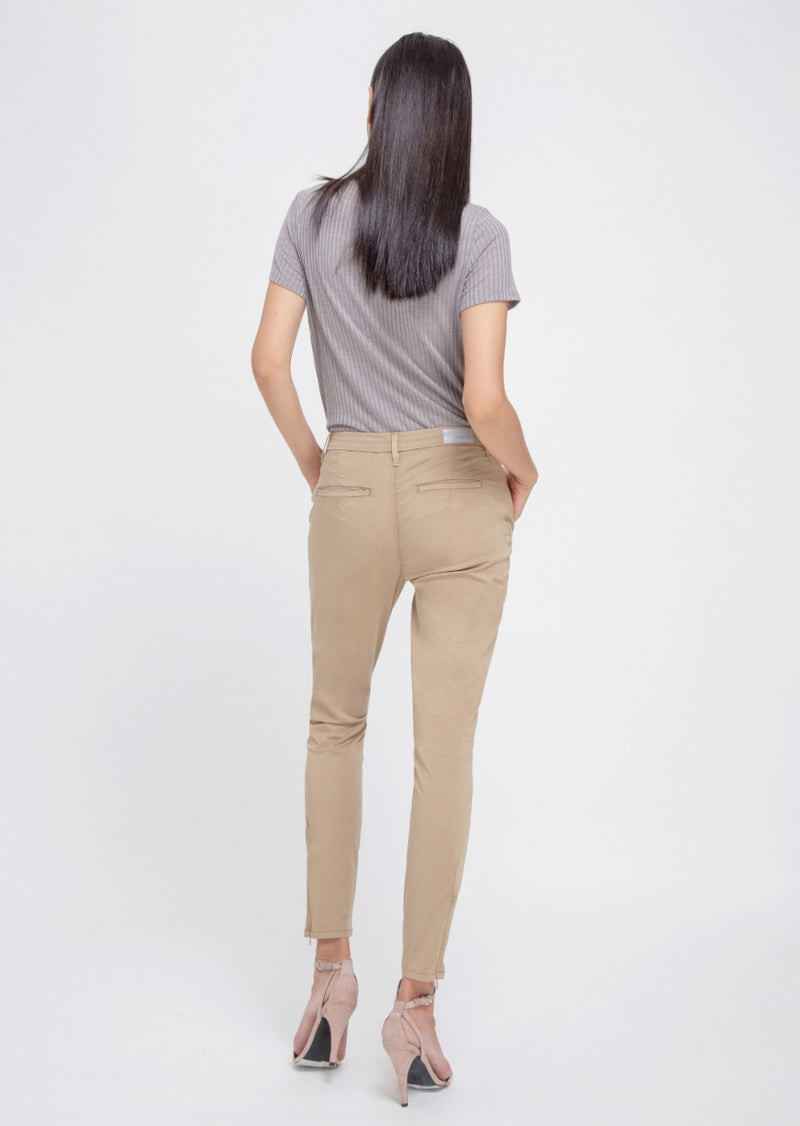 HEAVEN - Boyfriend, Soft Cotton Summer Chino, Beige