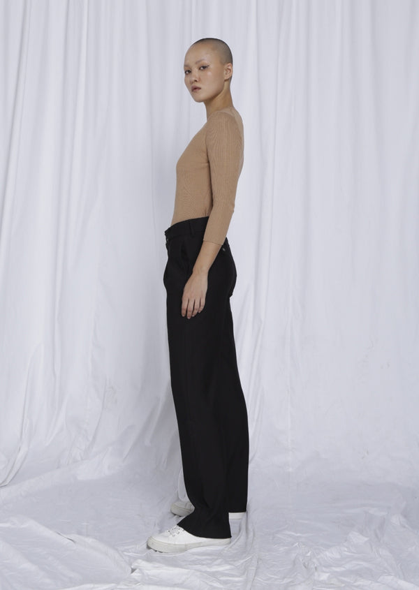 CIEL - Wide Leg, Recycled Tech Twill, Navy