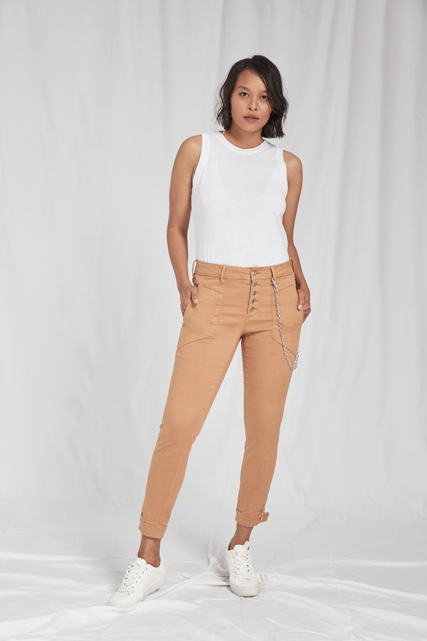 SUNSHINE - Tapered, Sustainable Tencel Cotton Chino