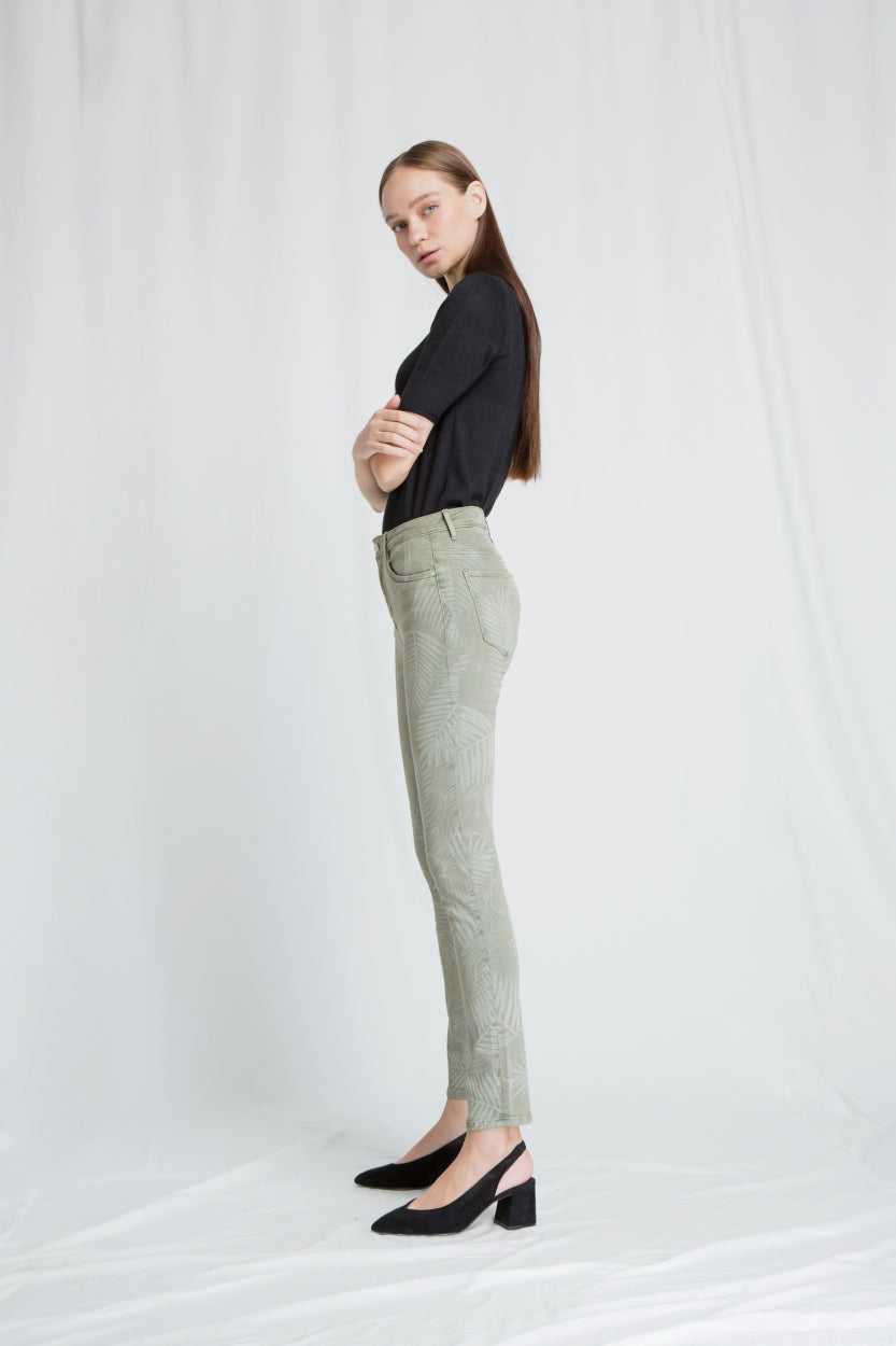 SUN UP - Skinny, Sustainable Soft Denim, Motiv
