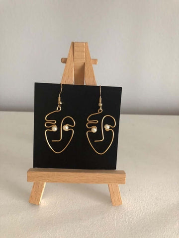face2face earrings
