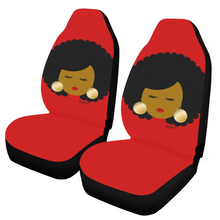 Load image into Gallery viewer, Afro Woman Car Seat Covers (2)