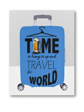 Load image into Gallery viewer, Time To Travel The World Luggage Cover