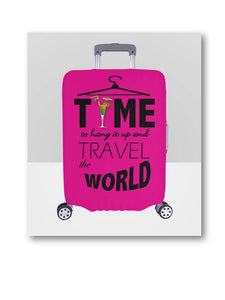 Time To Travel The World Luggage Cover