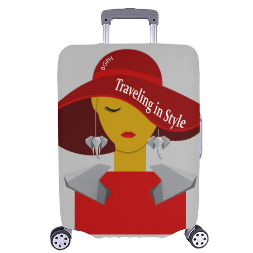 Traveling In Style Luggage Cover