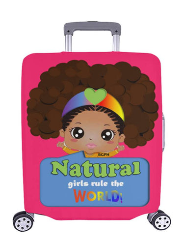 Natural Girls Luggage Cover