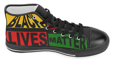 Load image into Gallery viewer, Black Lives Matter High Top Canvas For MEN