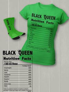 Black Queen Socks