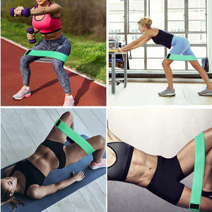 3 Piece Workout Resistance Exercise Bands