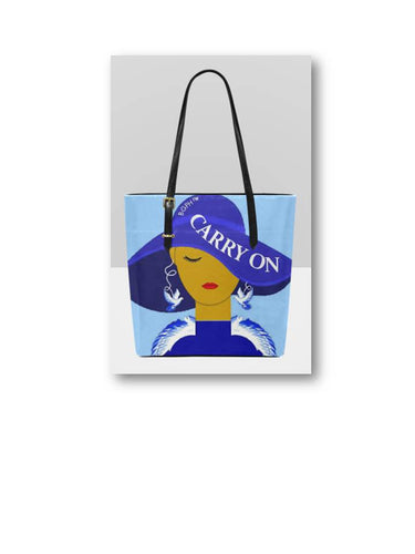 Carry On Tote Purse (Bird)