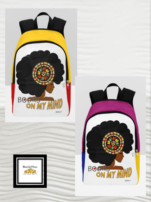 Books On My Mind Backpack