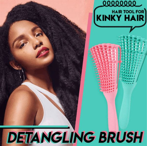 Kinky Hair Brush
