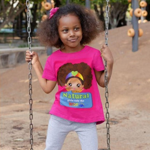 Natural Girls Rule The World T-Shirt