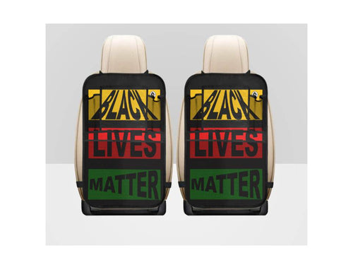 Black Lives Matter Car Seat Organizers with Pouches