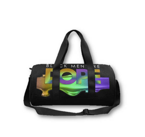 Black Men/Boys DOPE Duffel Bag
