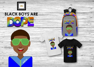 DOPE Boy Kids T-Shirt