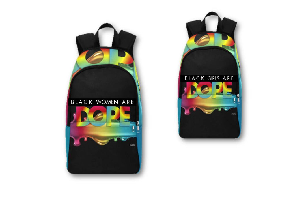 Black Women/Girls Are DOPE Backpack