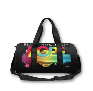 Black Women/Girls DOPE Duffel Bag