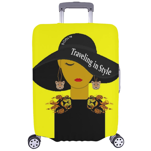 Traveling In Style (Leopard) Luggage Cover