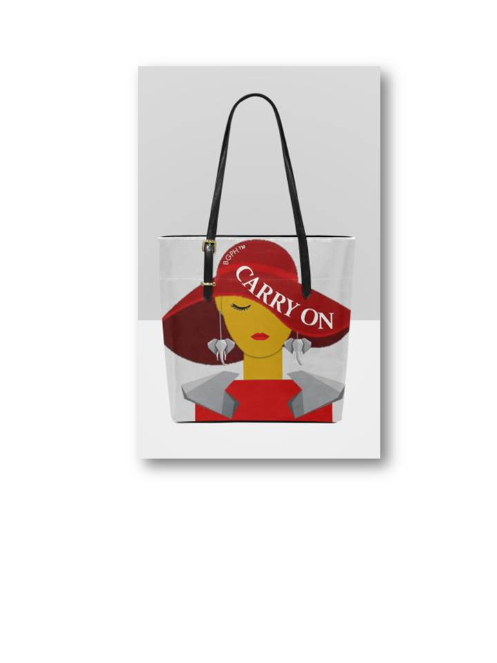 Carry On Tote Purse (Elephant)