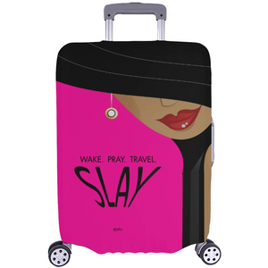 Slay Woman Luggage Cover