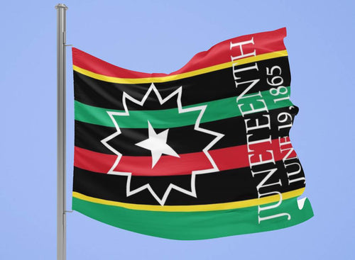 African Colors JUNETEENTH Flag