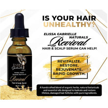 Load image into Gallery viewer, Elissa Gabrielle Naturals Hair & Scalp Serum and Follicle Stimulating Cream