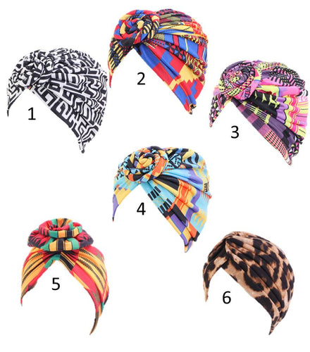 Knotted Head Wraps