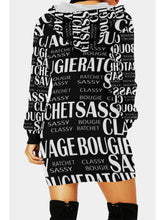 Load image into Gallery viewer, Ratchet, Bougie, Classy, Sassy Long Hoodie