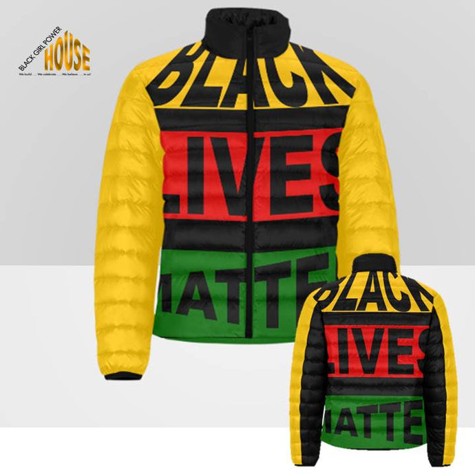 Black Lives Matter Puffer Jacket