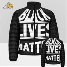 Load image into Gallery viewer, Black Lives Matter Puffer Jacket