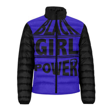 Load image into Gallery viewer, Black Girl Power Puffer Jacket