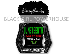 Juneteenth Natural Woman Baseball Jacket