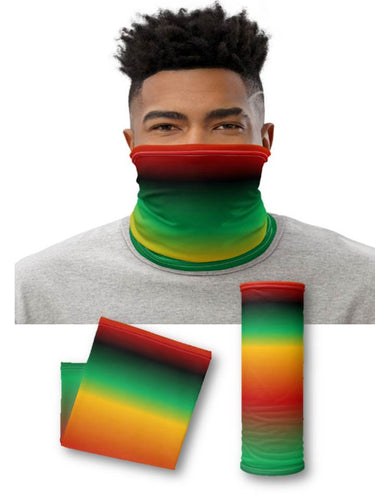 African Colors Face & Neck Gaiter Mask