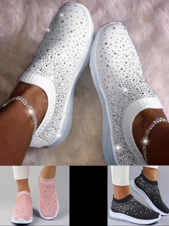 Bling Sock Tennis Shoes