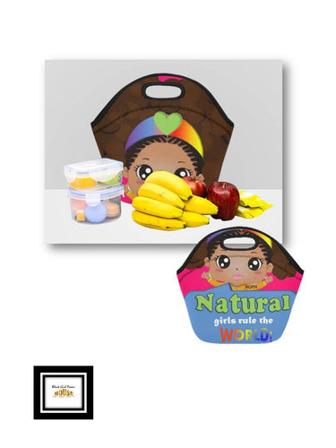 Natural Girls Lunch Bag