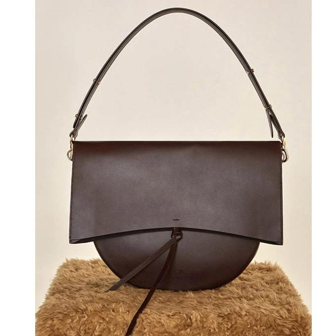 Vintage Round Shoulder Bag