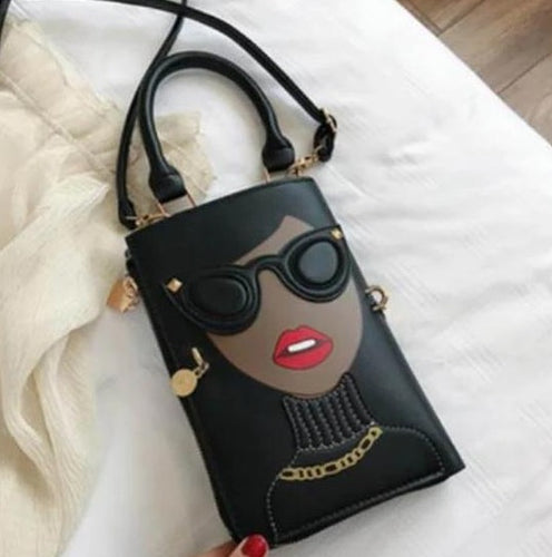 Sexy Stylish Woman Purse with Earrings