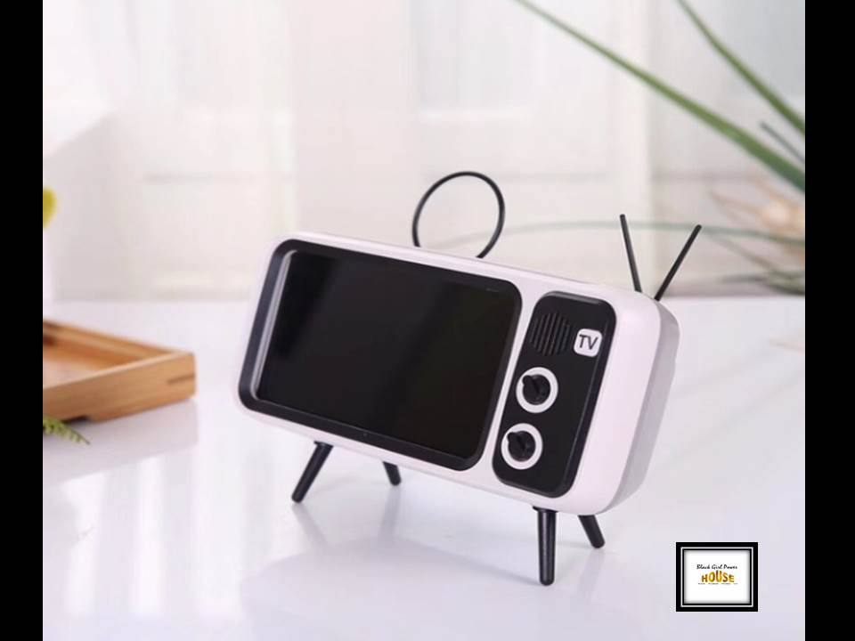 Portable Smart Phone TV Holder with Bluetooth Speaker