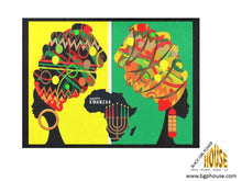 Load image into Gallery viewer, 4 Kwanzaa Placemats