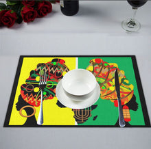 Load image into Gallery viewer, Kwanzaa Table Runner