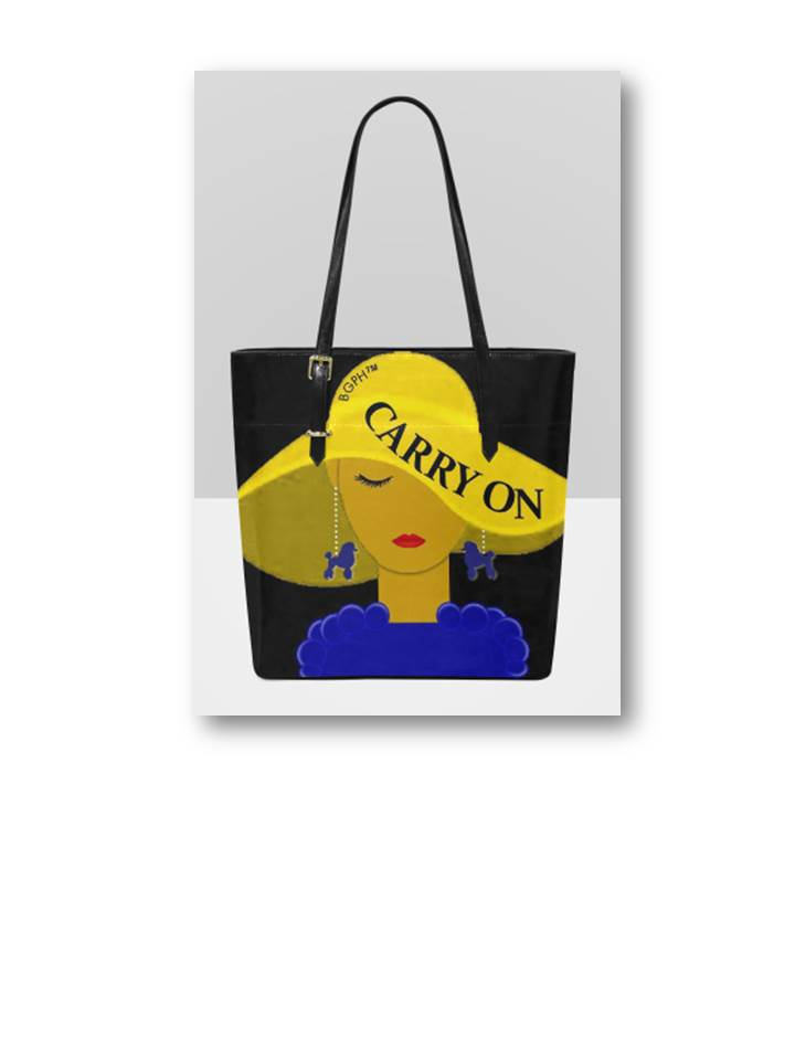 Carry On Tote Purse (Dog)