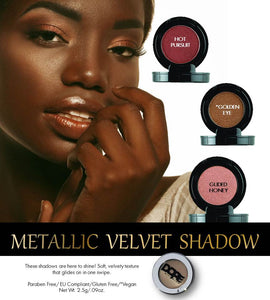 Metallic Velvet Shadow
