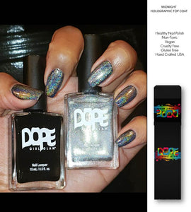 Midnight Nail Polish Holographic Set