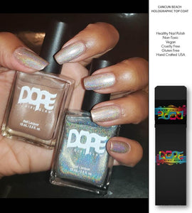 Cancun Beach Nail Polish Holographic Set