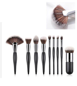 9-Piece Cosmetic Brush Set