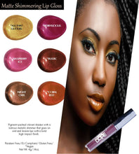 Load image into Gallery viewer, Matte Shimmering Lip Gloss